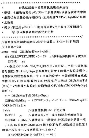 μc/Os-Ⅱ就绪表算法在ARM架构上的改动-μ北京中科建筑设计研究院图片