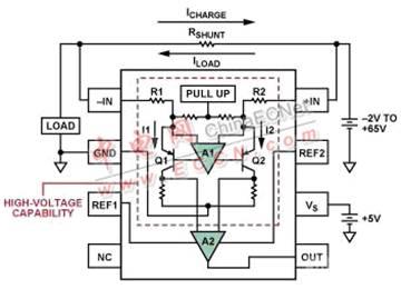 高端电流检测:差动放大器vs.电流检测放大器