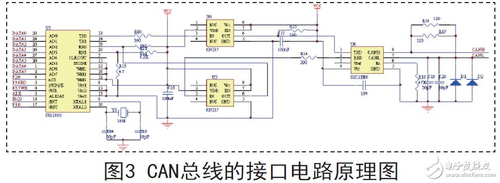 can总线的接口电路原理图
